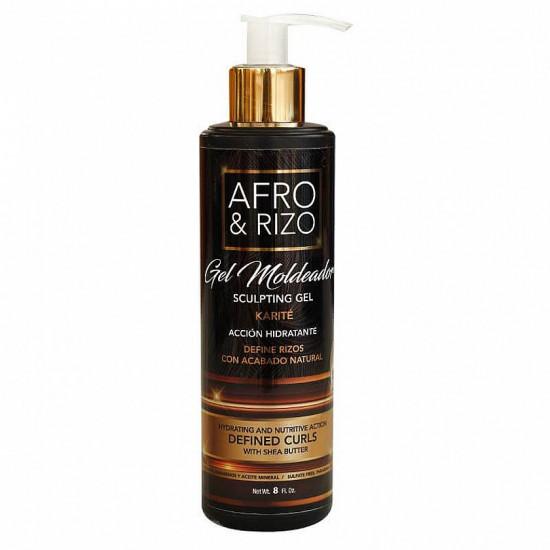 Afro & Rizo  Gel Moldeador...