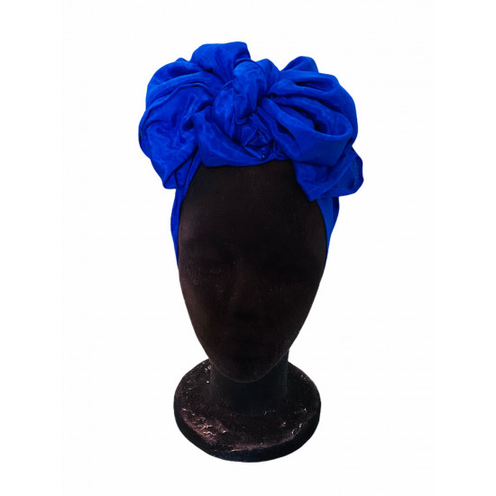 Pañuelo crepe - azul...